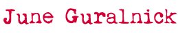 June Guralnick Logo